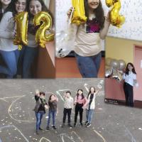 Рожден ден в училище!