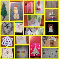 Коледните картички на талантливите деца от ГЦОУД 3