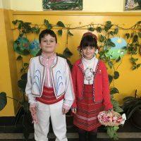 """Учениците от 76. ОУ """"Уилям Сароян"""" празнуват 1 Март /Баба Марта/"""