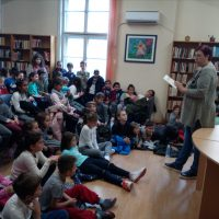 Посещение на столична библиотека