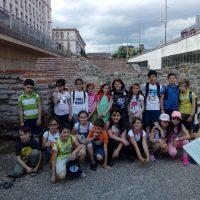 Разходка с ученици до антична Сердика.