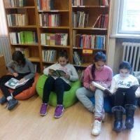Четвъртокласници на гости в седмицата на четенето