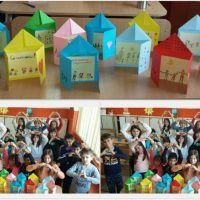 """Учениците в  ГЦОУД 3 отбелязаха Деня на християнското семейство, като изработиха оригиналните картички """"Аз обичам моето семейство""""!"""