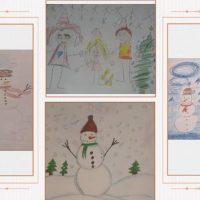 Зимно вдъхновение в рисунките на учениците от ГЦОУД 1