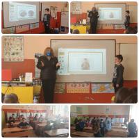 С поклон пред загиналите за свободата ни герои, презентация, възрожденски песни и стихове, учениците от 3а клас отбелязаха Националния празник на РБългария!